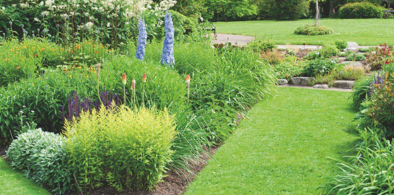 Schöner Garten trotz Urlaubspause