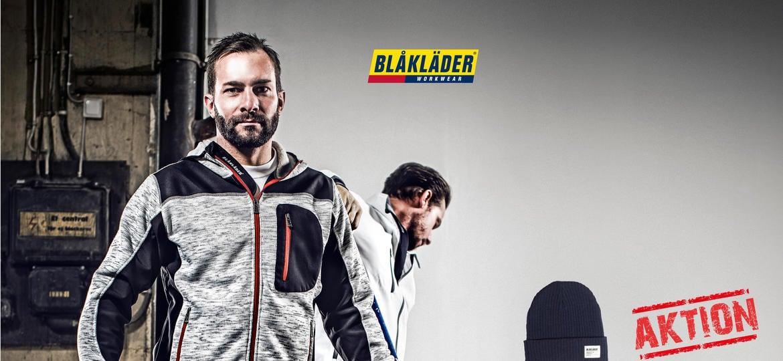 Neues Arbeitsbekleidungssortiment Blåkläder in den GARTENmark Zweigstellen