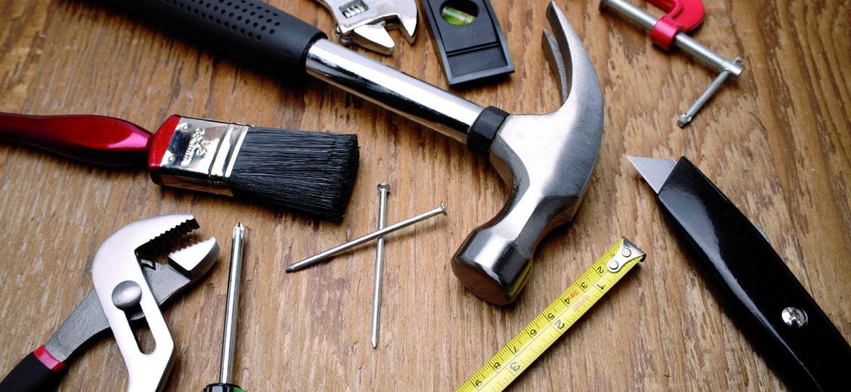 Was darf in der Werkzeugkiste nicht fehlen?
