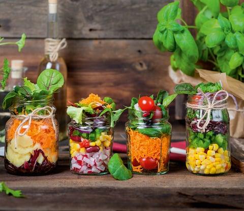 Außergewöhnliche Salate