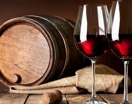 Weinproduktion und Saftherstellung