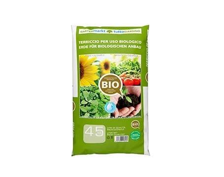 Erde für biologischen Anbau
