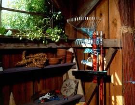 La manutenzione degli attrezzi da giardino